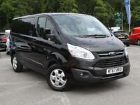 2017 Ford Transit Custom 290 SWB 2.0 Tdci Limited Auto 130PS Diesel black Automa