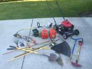 Lawn & Garden equipment and tools