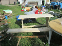 Pro carpenter offering picnic tables fences decks and more