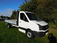VW Crafter CR35 TDI 14ft bed