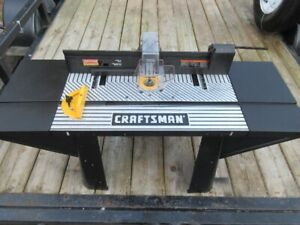 Craftsman Router and Work Station