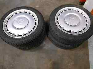 Set of rims and tires for smart fortwo Kitchener / Waterloo Kitchener Area image 1
