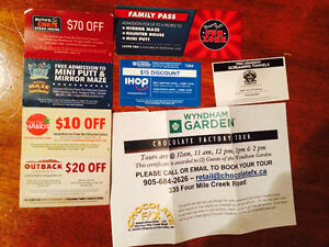 NIAGARA FALLS TICKETS RUTH CHRIS CLIFTON HILL TICKETS