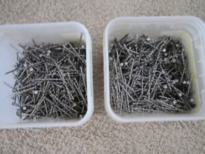 35 pounds of 3 1/2 inch Standard Ardox Spiral Nails for sale$20