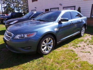 2010 FORD TAURUS SEL AWD, 3.5L V6, LEATHER, ROOF, LOADED!