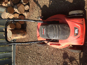 electric mulching mower and more!