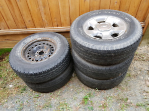5 x 255/75/16 Tires For Sale