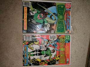 Green lantern comic collection for sale/trade