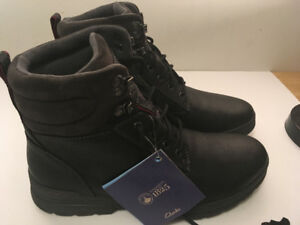 Clarks Ryerson Ridge Mens Winter Boots, size 9.5 M