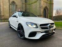 MERCEDES E63 S 4MATIC+ PREMIUM 9G TRONIC 2018+LOW MILES+ULTIMATE SPEC*PX WELCOME