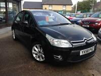 2009 (58) Citroen C4 1.6HDi 16v (110bhp) VTR+ (Finance Available)