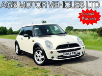 *** WHITE MINI ONE 1.6 PETROL COPPER SPEC - BLUETOOTH - AUX - GREAT VALUE ***