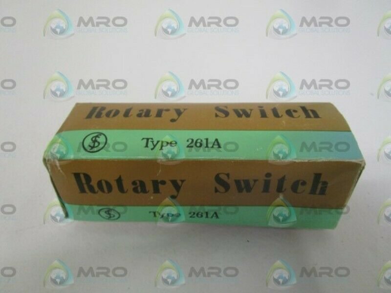 511 ROTARY SWITCH * NEW IN BOX *