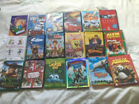 70 kids DVDs