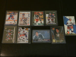 Hockey Cards NHL Temmu Selanne Rookie and Insert Cards Lot 9
