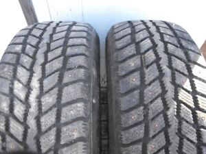 "Pair of studded 16"" Winter Tires"
