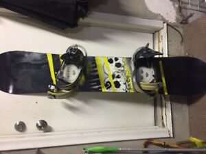 Burton Verdict 151 Board w/ Burton mission bindings