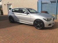 "BMW 20"" inch alloy wheel with tires"