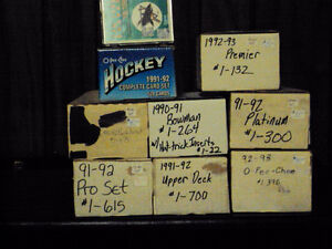 Master hockey card sets