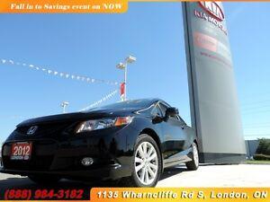 2012 Honda Civic EX-L London Ontario image 1