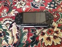 Sony psp & 30 mixed games & movies