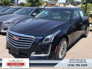 2018 Cadillac CTS Luxury Collection AWD  - Sunroof