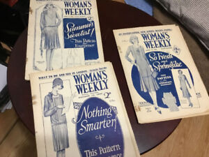 Woman's weekly post war