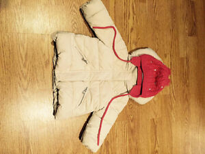 Manteau Hiver pr fille (Zara) 9-12 mois -