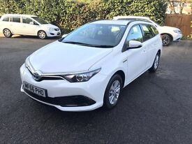 NO INTEREST! BUY/RENT TO OWN a NEW/USED Uber Ready PCO TOYOTA AURIS Hybrid, PRIUS, HONDA Insight