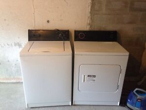 May tag washer and dryer