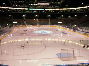 3x Toronto Maple Leafs Tickets (Golds - 5 Rows from Glass)