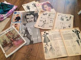 Lot of vintage paraphernalia ranging from 1951 onwards