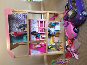 Barbie house double sided