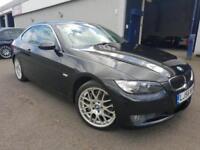 BMW 330 3.0TD auto 2007MY d SE Diesel 70k FSH Black Leather