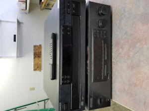 Kenwood AM/FM CD TAPE Amplifier and 5 disc CD player