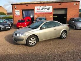 2004(54) Renault Megane 2.0 VVT 136 Coupe Cabriolet Dynamique, **ANY PX WELCOME*