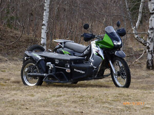 KLR 650 with Adventure sidecar