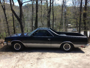 Chevrolet El Camino 1987, QC plates, V6 runs great, $5000 as is