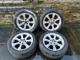 BMW 17 alloys wheels Vauxhall vivaro alloys