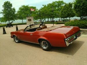 Mercury Cougar Convertible 351 Clevland 1973 RUST FREE