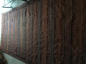 HAND WOVEN large area rug
