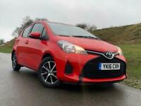 2016 Toyota Yaris 1.0 VVT-i Active 5dr Hatchback Petrol Manual