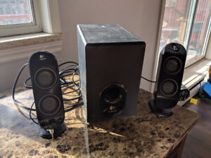 Logitech X-230 speakers and Sub