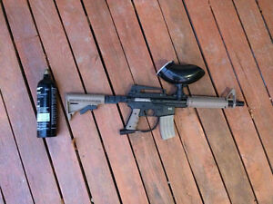 JT Tactical Paintball Gun w/ 2 CO2 canisters