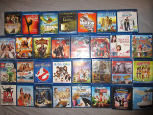 LOTS OF BLURAYS LOTS BRAND NEW $4each or 6/$20