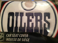 Brand New Oilers Seat Cover