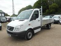 2012 MERCEDES SPRINTER 313 CDI MWB DROPSIDE AUTOMATIC CHOICE OF 2 FROM £10995 DR