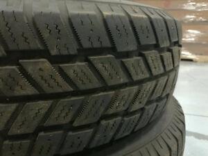 4 pneus d'hiver avec rims Hankook 215/70R15 Windsor Region Ontario image 4