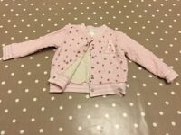 Next girls jacket/jumper size 12-18 months