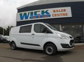 2015 Ford TRANSIT CUSTOM 290 125PS TREND LWB KOMBI VAN *6 SEATER* Manual Crew Va